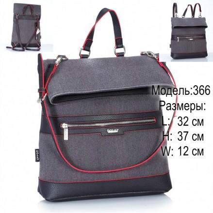 Городской рюкзак Dolly новинка 366 и 367. Харьков. фото 1