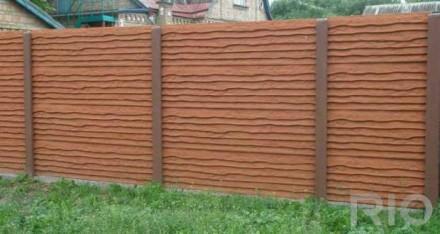 железобетонный декоративный забор,армированный,используем пластификатор, более 2. Житомир, Житомирская область. фото 5