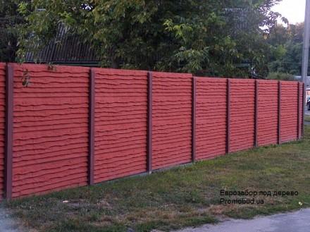железобетонный декоративный забор,армированный,используем пластификатор, более 2. Житомир, Житомирская область. фото 12