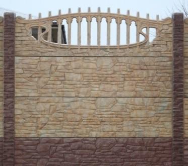 железобетонный декоративный забор,армированный,используем пластификатор, более 2. Житомир, Житомирская область. фото 7