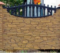 железобетонный декоративный забор,армированный,используем пластификатор, более 2. Житомир, Житомирская область. фото 11