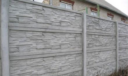 железобетонный декоративный забор,армированный,используем пластификатор, более 2. Житомир, Житомирская область. фото 9