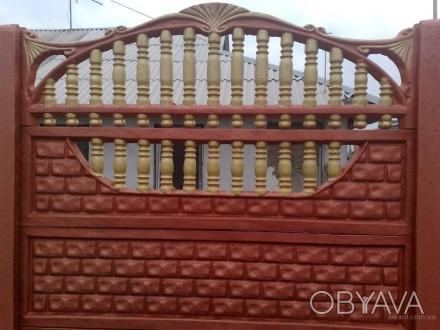 железобетонный декоративный забор,армированный,используем пластификатор, более 2. Житомир, Житомирская область. фото 1