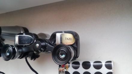 Бинокль миниатюрный БПС 4х20 1966 года выпуска (СССР, редкий), спортивный. Цена . Киев, Киевская область. фото 9