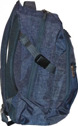фото 1 - 7 Городской рюкзак, мягкий, легкий, вместительный, изготовлен из ткане. Харьков, Харьковская область. фото 11