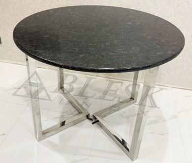 Стеклянный столик столик модерн из нержавейки и стекла.   Столешница может . Киев, Киевская область. фото 4