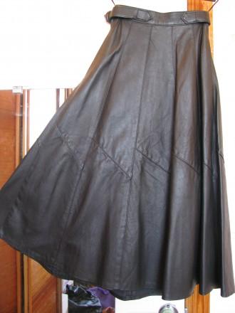 Кожаная шикарная юбка. Харьков. фото 1