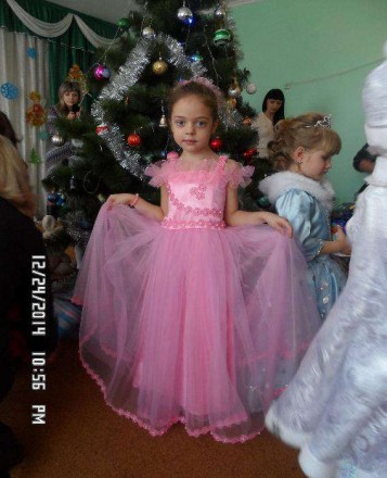 новогоднее плптье. Киев. фото 1
