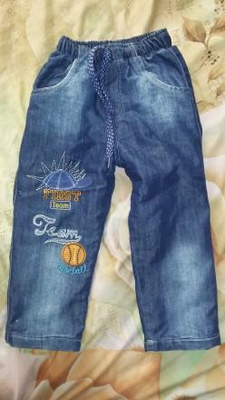 Утепленные джинсы (Турция). Знаменка. фото 1