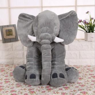 Большой плюшевый слон. Днепр. фото 1