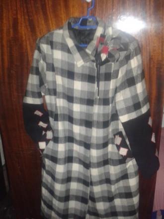 пальто женское весна-осень из шерсти. Мариуполь. фото 1