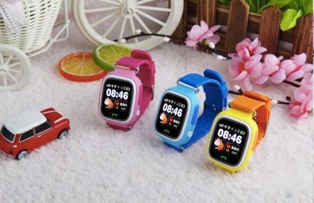 Детские умные часы Smart Wath Beby Q90 с GPS и трекером ORIGINAL. Киев. фото 1