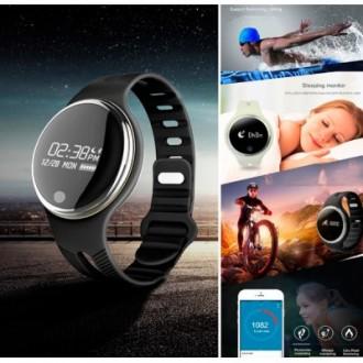 Умные смарт Smart Watch Часы-Браслет E07 Swimming для СПОРТА.Новинка!. Киев. фото 1