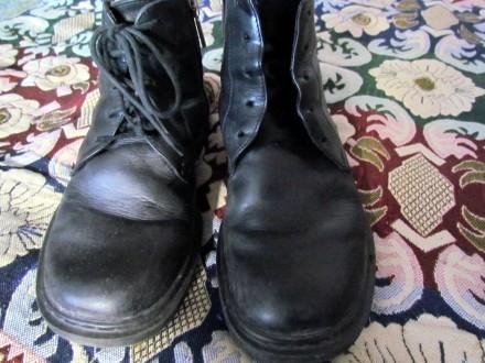 Продам зимние кожаные ботинки для мальчика 35р.. Бровары. фото 1