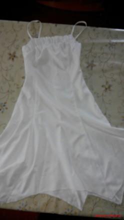 Белый сарафан на лето. Знаменка. фото 1