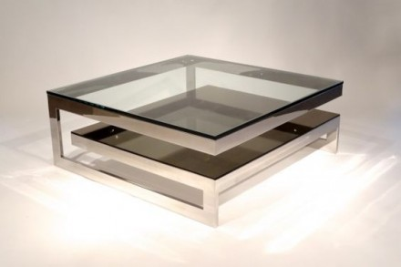 ᐈ журнальный стол из металла дерева стекла на заказ ᐈ киев 15500
