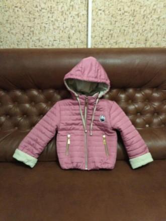 ,Весенняя курточка для девочки на 5-6 ле.... Харьков. фото 1