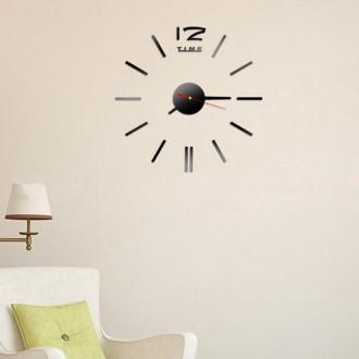 Настенные часы - стикеры Z-time с 3D-эффектом. Миколаїв. фото 1