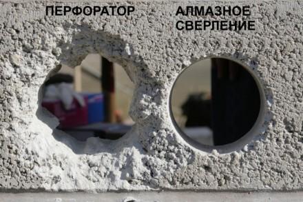Алмазное бурение (сверление) отверстий является самым удобным и быстрым способом. Чернигов, Черниговская область. фото 5