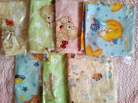 Сменный комплект постельного белья в детскую кроватку. Кропивницкий. фото 1