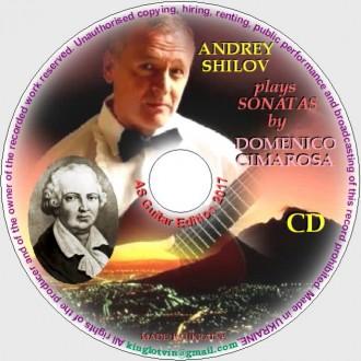 CD с записями музыки Доменико Чимароза. Днепр. фото 1