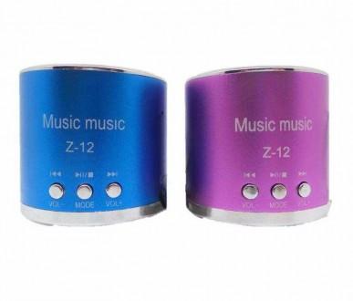 Мультимедийная колонка (MP3, FM radio, USB, micro SD). Донецк. фото 1