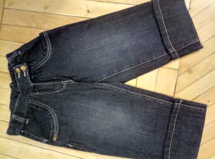 Продам очень симпатичные джинсовые новые капри. Харьков. фото 1
