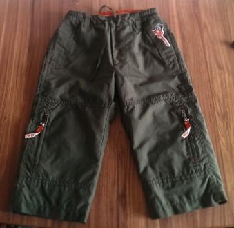 Крутые штаны H&M на х/б подкладке, 92 р.. Черкассы. фото 1