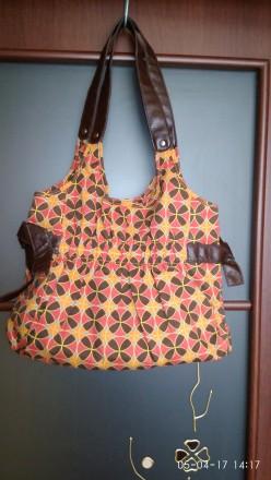 Летняя сумочка разноцветная 100% коттон плотный!. Кривой Рог. фото 1