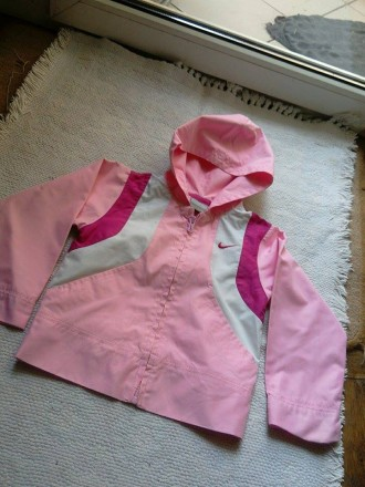 вітрівка Nike рожева. Львов. фото 1