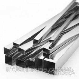 Труба 50х25х2 мм профильная AISI 304 нержавеющая