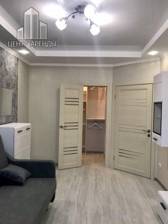 Сдам 1-комнатную на Вильямса ЖК Акварель. Красивая квартира с евроремонтом в све. Киевский, Одесса, Одесская область. фото 12