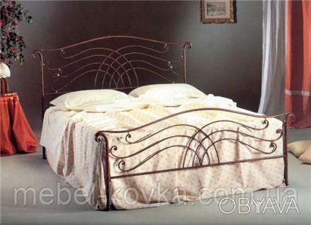 Односпальная металлическая кровать 20