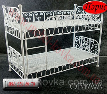 Детская металлическая кровать