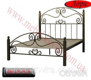 Кровать двуспальная кованая