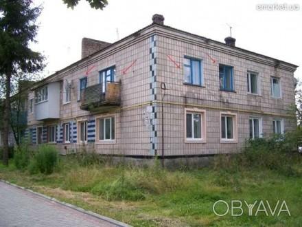 3-к квартира 45 м² на 2 этаже 2-этажного кирпичного дома пгт, Рокитное Ровенской. Луцк, Волынская область. фото 1