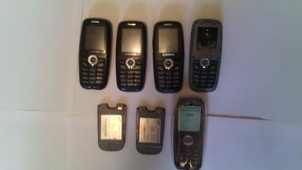 Продам три Samsung x620 и две батареи к ним, плюс запчасти и силиконовый чехол. . Одесса, Одесская область. фото 2