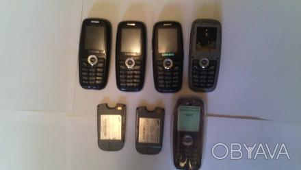Продам три Samsung x620 и две батареи к ним, плюс запчасти и силиконовый чехол. . Одесса, Одесская область. фото 1