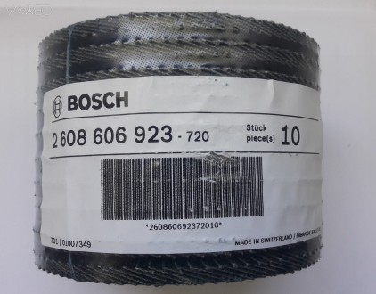 Круг пелюстковий випуклий 125 мм Best For Metal, Bosch   зерно Р120-20шт. Львов, Львовская область. фото 1
