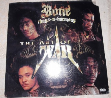 Bone Thugs and Harmony - Art of War 1997 2LP Vynil. Александрия. фото 1