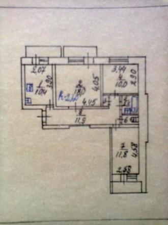 Продам 3-х комнатную квартиру в г. Дружба Сумской области. Ямполь. фото 1