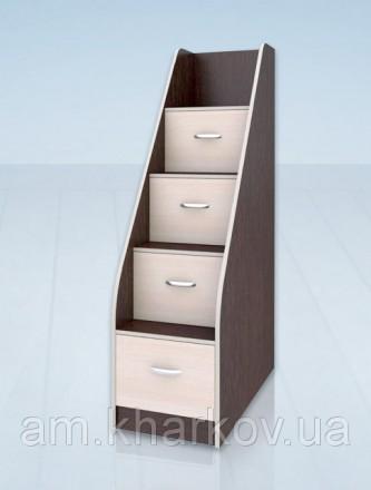 Лестница-комод с выдвижными ящиками. Харьков. фото 1