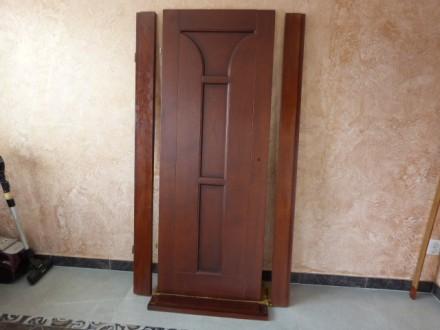 двери новые с луткой ,с петлями.,левое открывание.. Винница, Винницкая область. фото 4