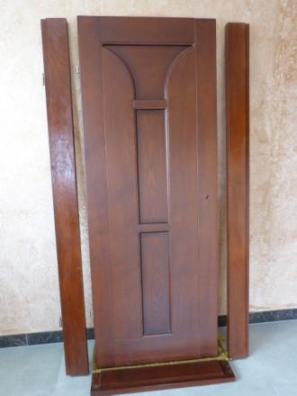 двери новые с луткой ,с петлями.,левое открывание.. Винница, Винницкая область. фото 3