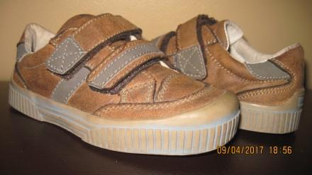 Туфли полуботинки Impidimpi 28 размер коричневые. Харьков. фото 1