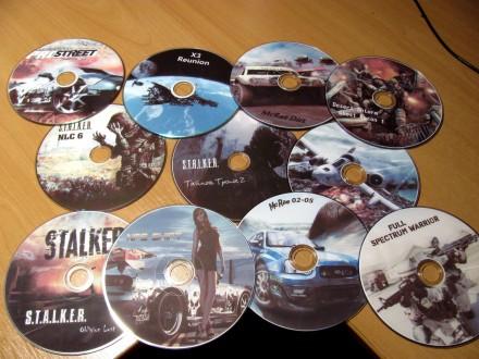 Диски с играми (DVD). Кропивницкий. фото 1