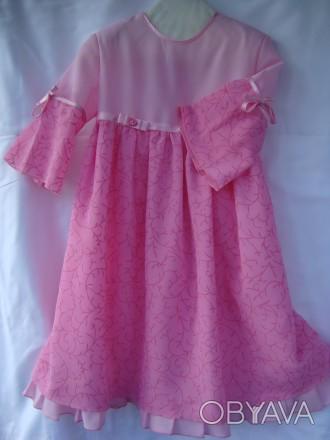 нарядное выпускное платье 6-7 лет