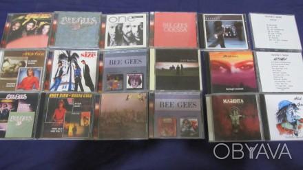 BEE GEES, GENESIS, ELTON JOHN, MARILLION, MIKE OLDFIELD на компакт дисках (б/у, . Суми, Сумська область. фото 1