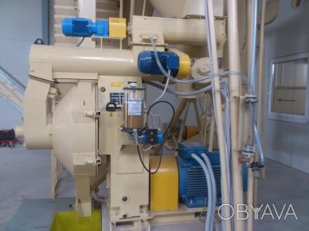 Комплексная линия по производству пеллет производительностью 1 т/ч