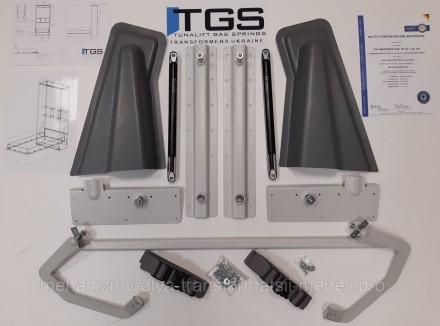 Механизм шкаф-кровать TGS508 Комплект механизма подходит так же для самостоятель. Киев, Киевская область. фото 2